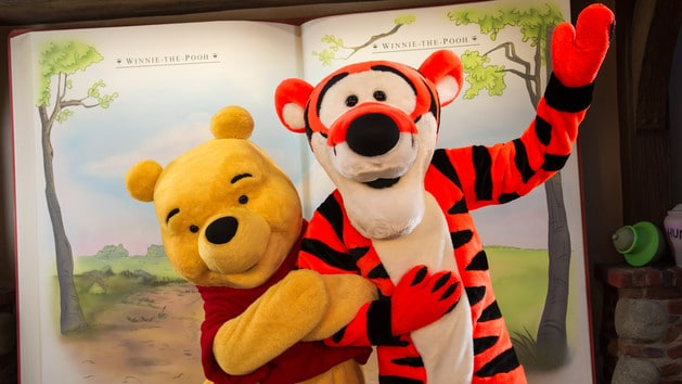Winnie the Pooh & Tigger (character meet) – Temporarily Unavailable