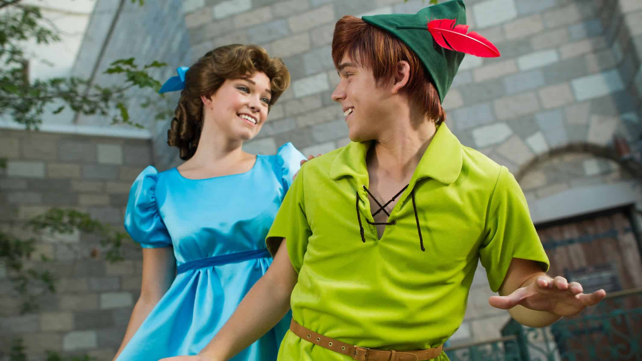 Peter Pan (character meet) – Temporarily Unavailable