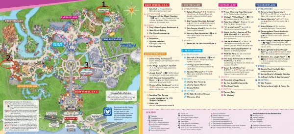 Magic Kingdom Relaxation Station map