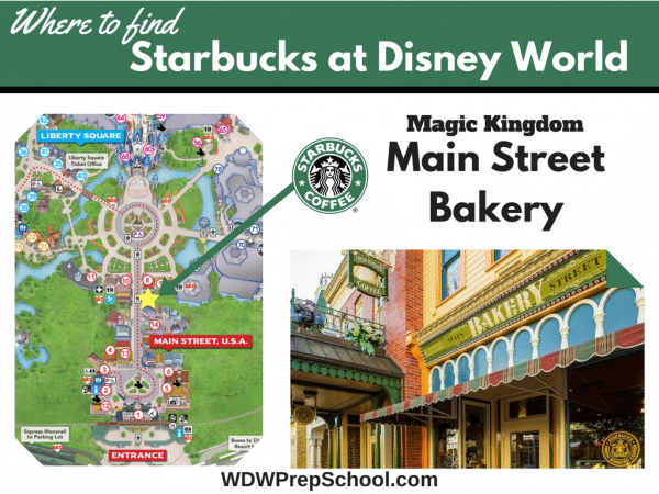 Magic Kingdom Starbucks at Disney World
