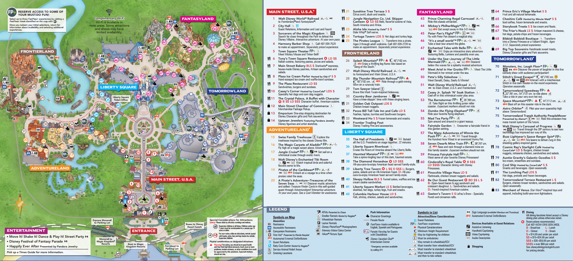 Adaptable image with regard to magic kingdom printable map