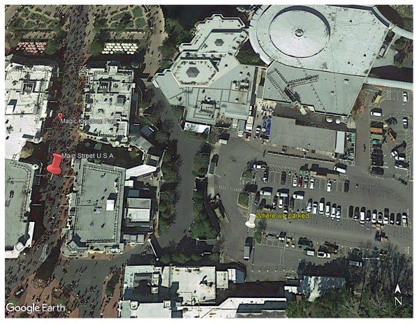 Magic Kingdom VIP parking