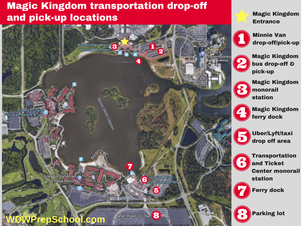 Parking at Disney World (& other helpful WDW driving tips)