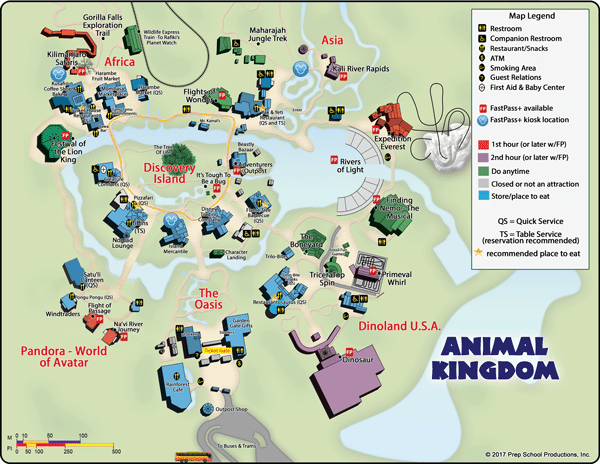 photo relating to Printable Disney Maps referred to as Disney Environment: Disney Environment Map Animal Kingdom