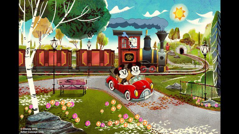 Mickey & Minnie's Runaway Railway (Opening Spring 2020)