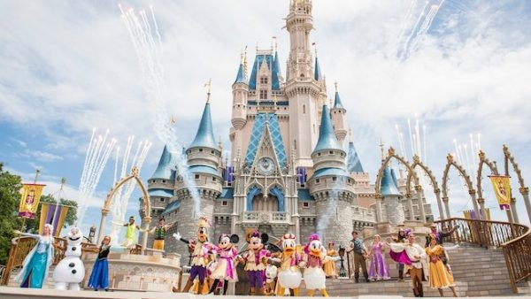 Mickeys Royal Friendship Faire castle 600x338 - Tips for seeing Anna and Elsa at Disney World (and Olaf too!)