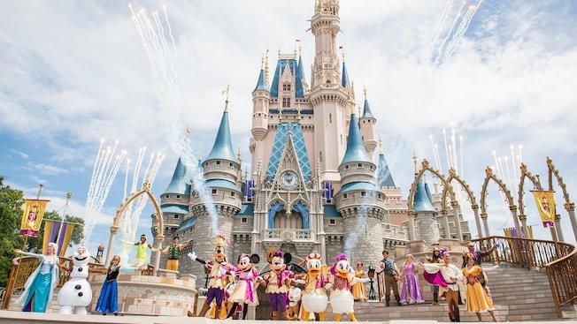 Cinderella Castle Mickey's royal friendship faire