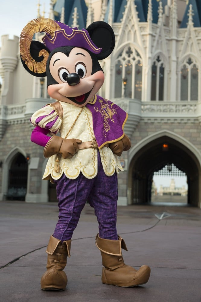 Mickeys Royal Friendship Faire - Where to meet Mickey Mouse at Disney World (no more Talking Mickey)