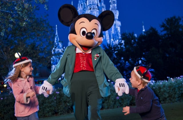 Mickeys Very Merry Christmas Party - Where to meet Mickey Mouse at Disney World (no more Talking Mickey)