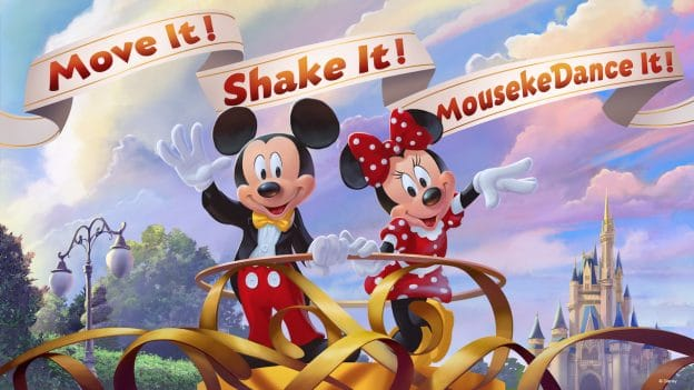 Move It! Shake It! MousekeDance It! Street Party (Coming January 2019)
