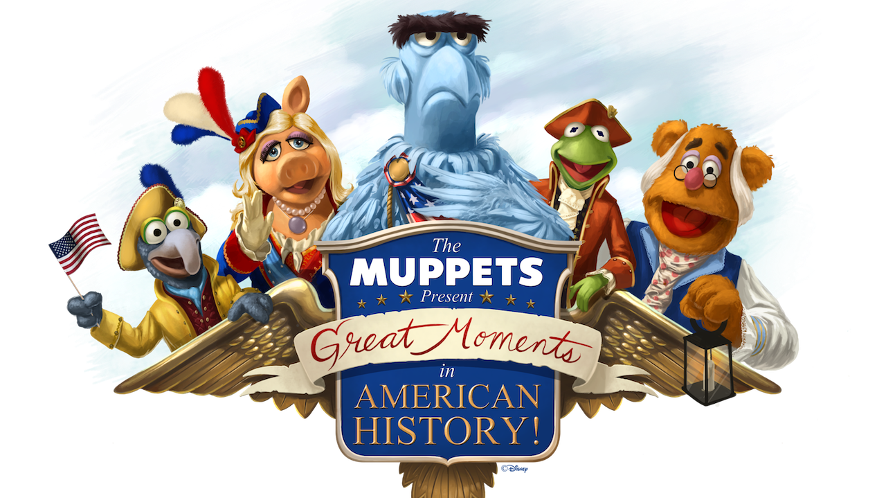 Muppets Present Great Moments in History Fourth of July at Disney World