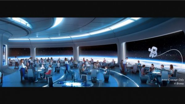 New Space themed restaurant in epcot