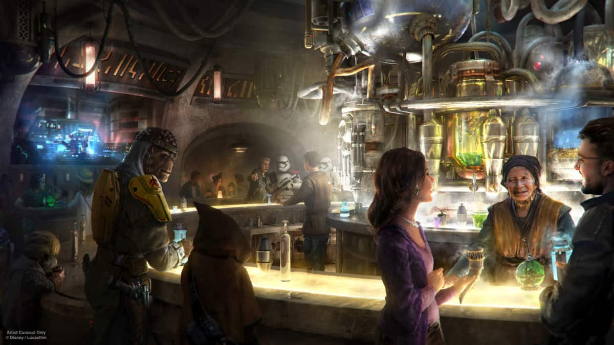 Hollywood Studios Dining - Oga's Cantina (opening 8/29/19)