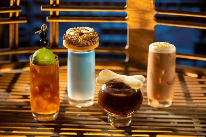 Oga's Cantina drinks