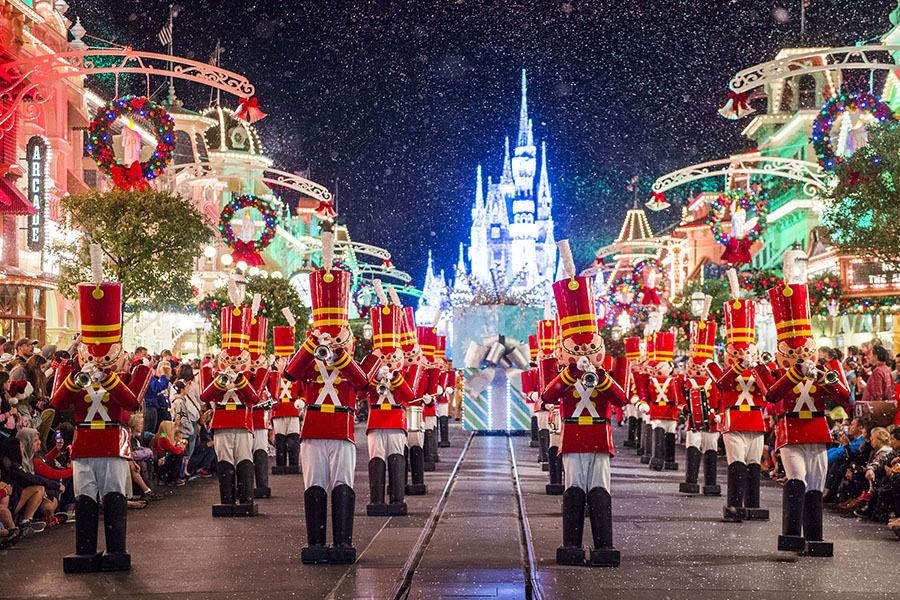 Mickey's Once Upon a Christmastime Parade (seasonal)