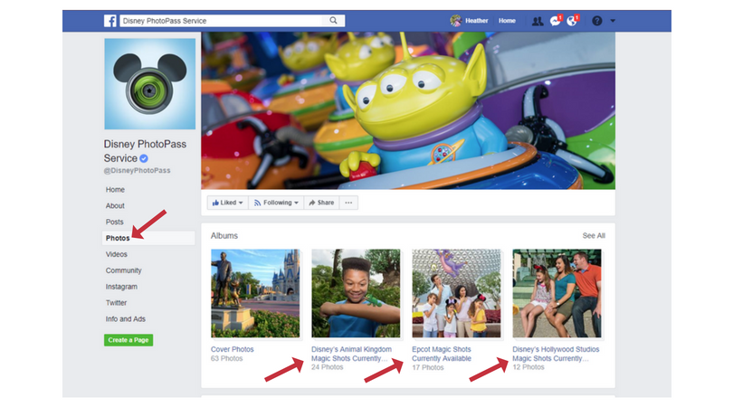 PhotoPass FB page