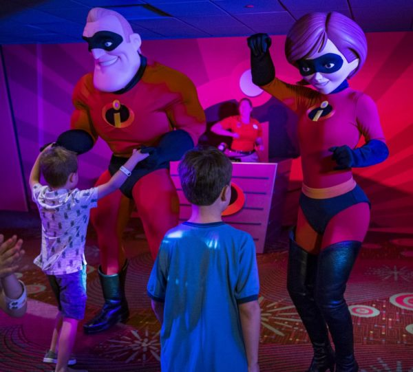 PixarPlayIncredibles 600x541 - What is the Pixar Play Zone at Disney's Contemporary Resort?