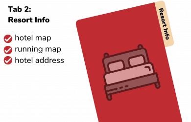 Resort Info for Disney Planning Binder
