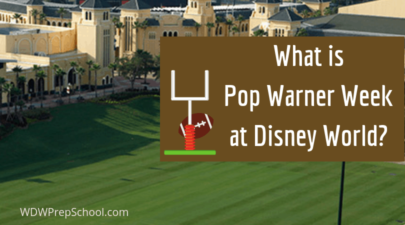 Do Pop Warner Kids Go To Christmas Party And Magic Kingdom 2020 What you need to know about Pop Warner Week at Disney World   WDW