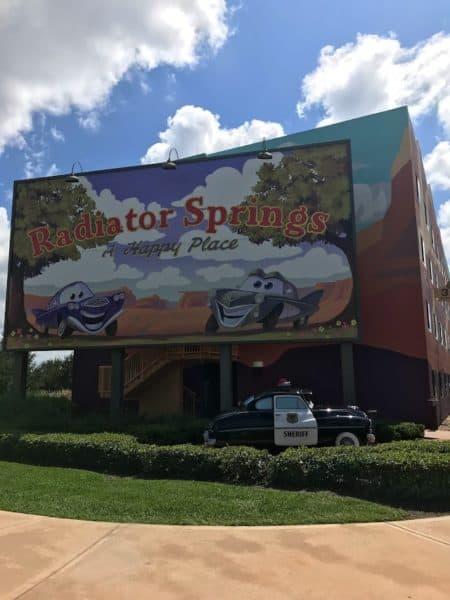 Radiator Springs Art of Animation