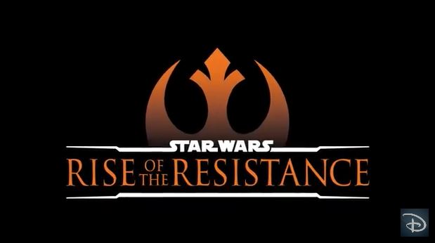 Star Wars: Rise of the Resistance (Coming Fall 2019)