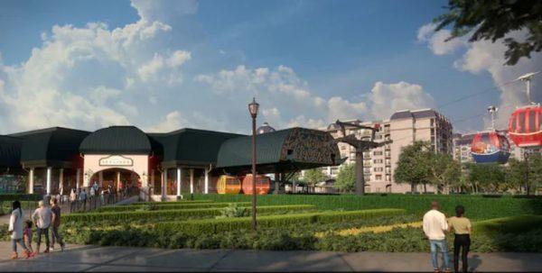 Riviera Resort Skyliner Station