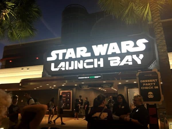 SWDessertPartycheckin 600x450 - Why the Star Wars: A Galactic Spectacular Dessert Party is a WDW Prep fave
