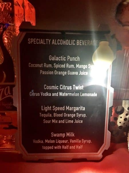 SWDessertPartydrink 450x600 - Why the Star Wars: A Galactic Spectacular Dessert Party is a WDW Prep fave