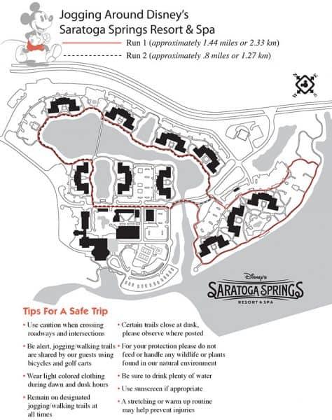 Saratoga Springs jogging path