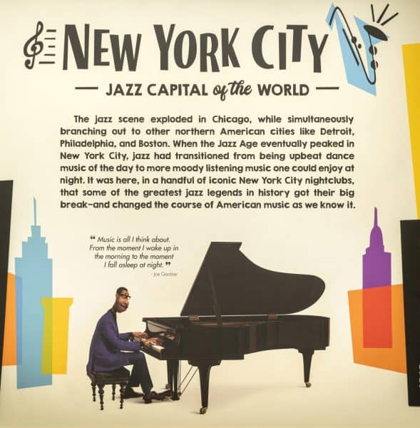 the soul of jazz exhibit at epcot celebrates jazz across several american cities