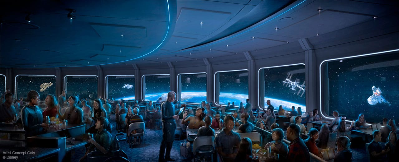 Pros and Cons for All Epcot Restaurants - Space 220 (lunch) (Coming February 2020)