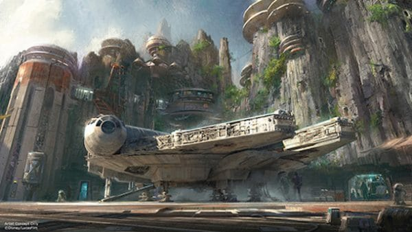 Star Wars Land annoucement 600x338 - Star Wars at Disney World (including the new Star Wars land)