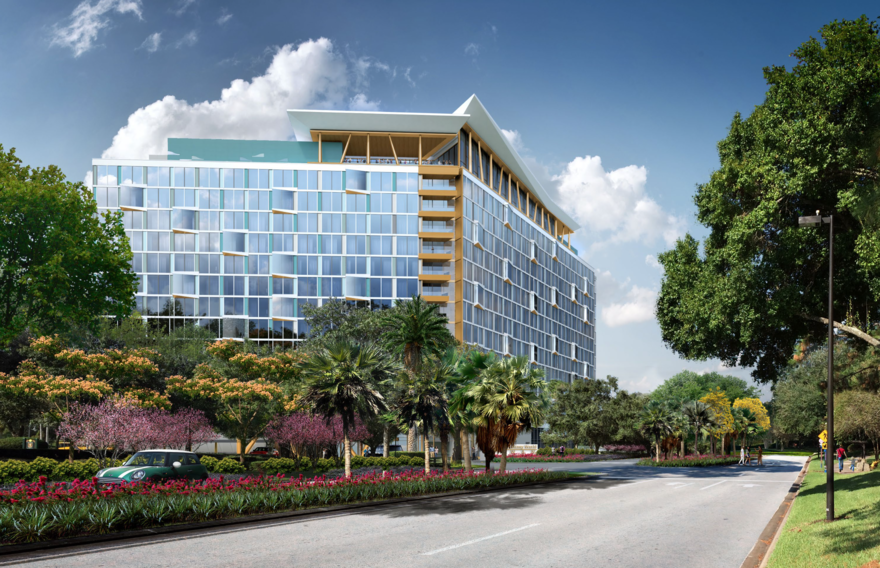 The Cove (a new Swan & Dolphin area hotel – Coming in 2020)