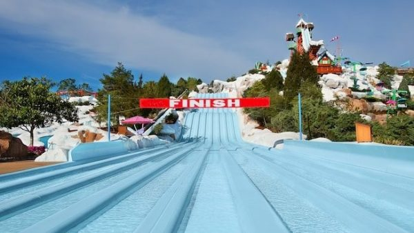 Toboggan Racers at Blizzard Beach 600x338 - Lottawatta Lodge (lunch)