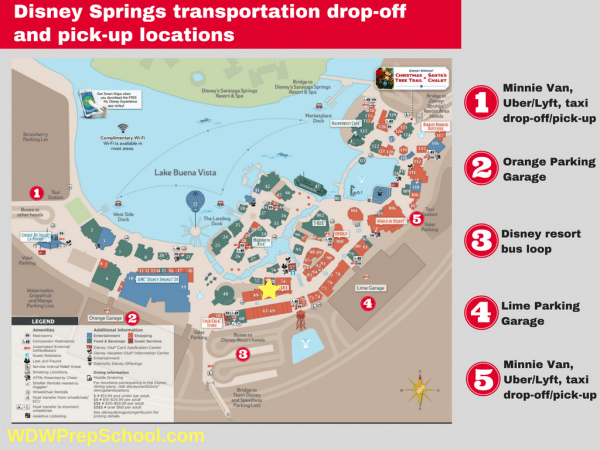 Transportation drop off and pick up locations 600x450 - Minnie Vans now available at all resorts! Here's how they work.