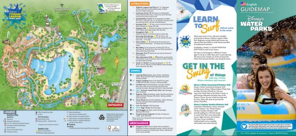 Typhoon Lagoon Map