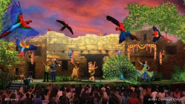Up a great bird adventure 600x338 - A guide to all Animal Kingdom rides and attractions