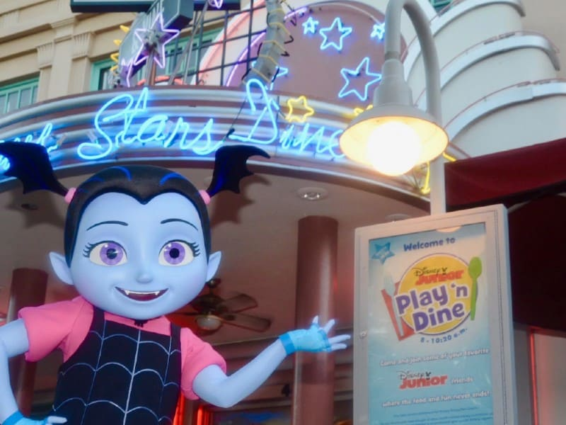 vampirina at hollywood & vine in hollywood studios