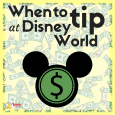 When to tip at Disney World square