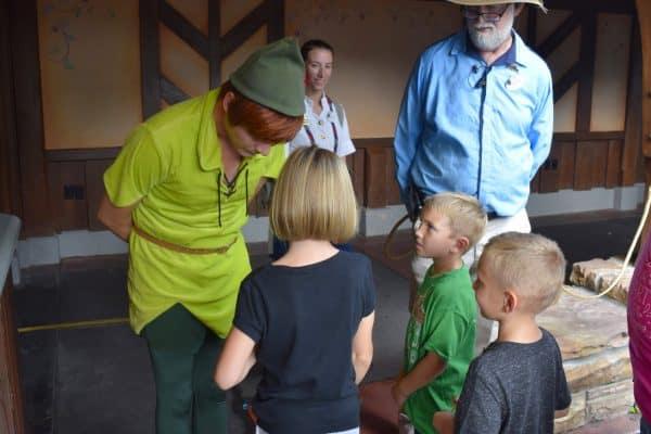 Disney's Family magic tour Peter Pan