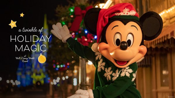 2020 holiday offerings at Walt Disney World