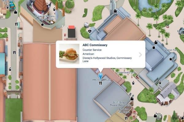 ABC Commissary at Hollywood Studios