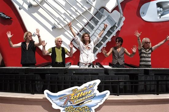 aerosmith rock 'n' roller coaster dedication