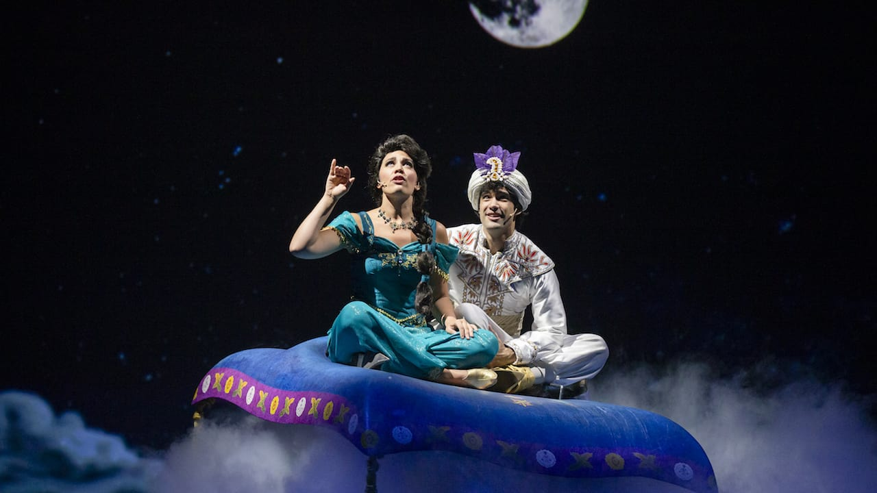 Aladdin on Disney Fantasy