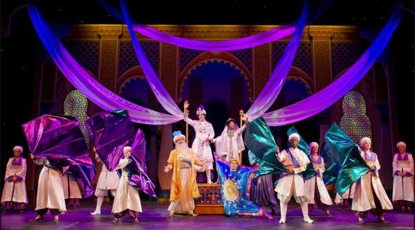 Aladdin musical on Disney Cruise Line