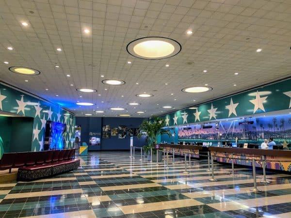 Lobby at All-Star Movies