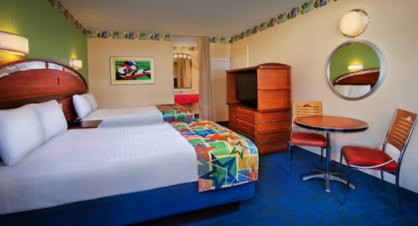 Room at All-Star Sports