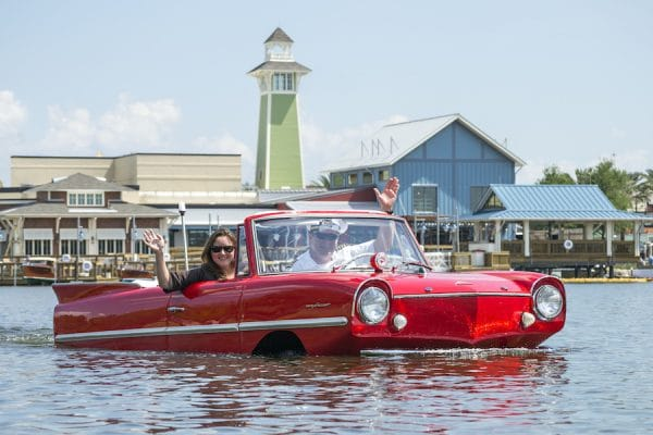 amphicar 600x400 - Wyndham Garden Lake Buena Vista - Disney Springs Resort Area