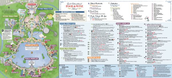 Food and Wine Map page 2