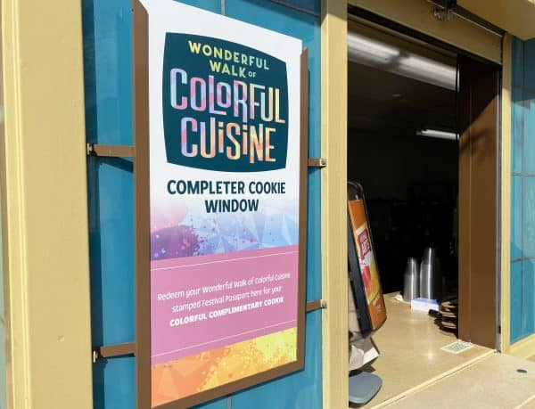 Completer Cookie Window for Colorful Cuisine